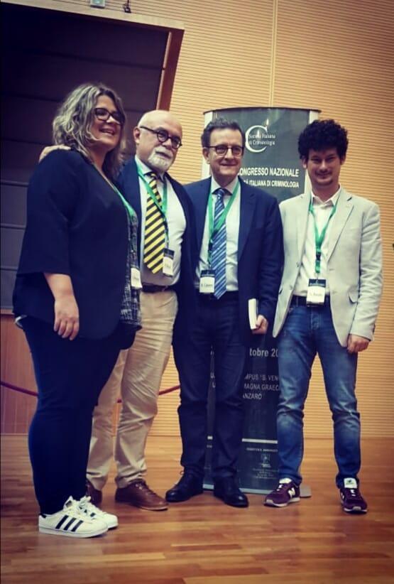 Creep si aggiudica la best workshop presentation al for Societa italiana di criminologia
